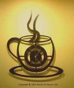 Cafe Latte Kitchen Decor Ibpu