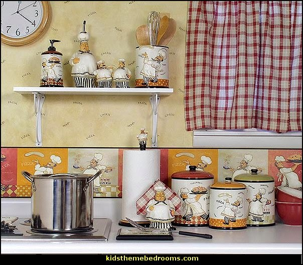 Beau Italian Fat Chef Kitchen Decor