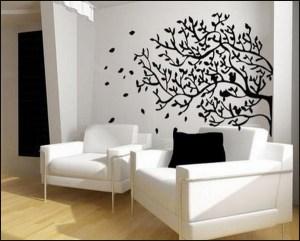 Living Room Wall Murals EVzS