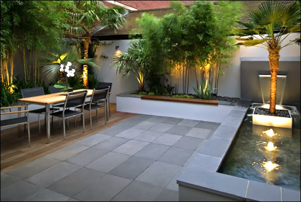 Modern Outdoor Patio Ideas .