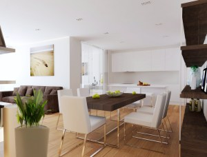 Open Living Room Dining Room IMeA