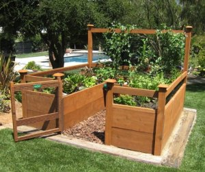 Raised Garden Bed Design WLUB