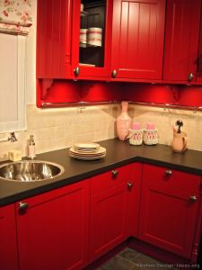 Red Kitchen Decor JZBO