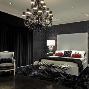 Combination black and white bedroom ideas