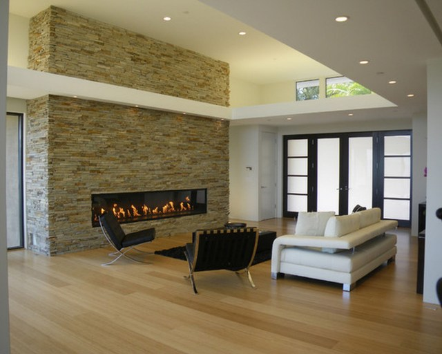 Modern decoration for contemporary living room
