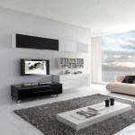 Contemporary White Living Room Designs