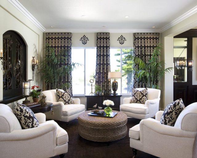 formal concept for living room