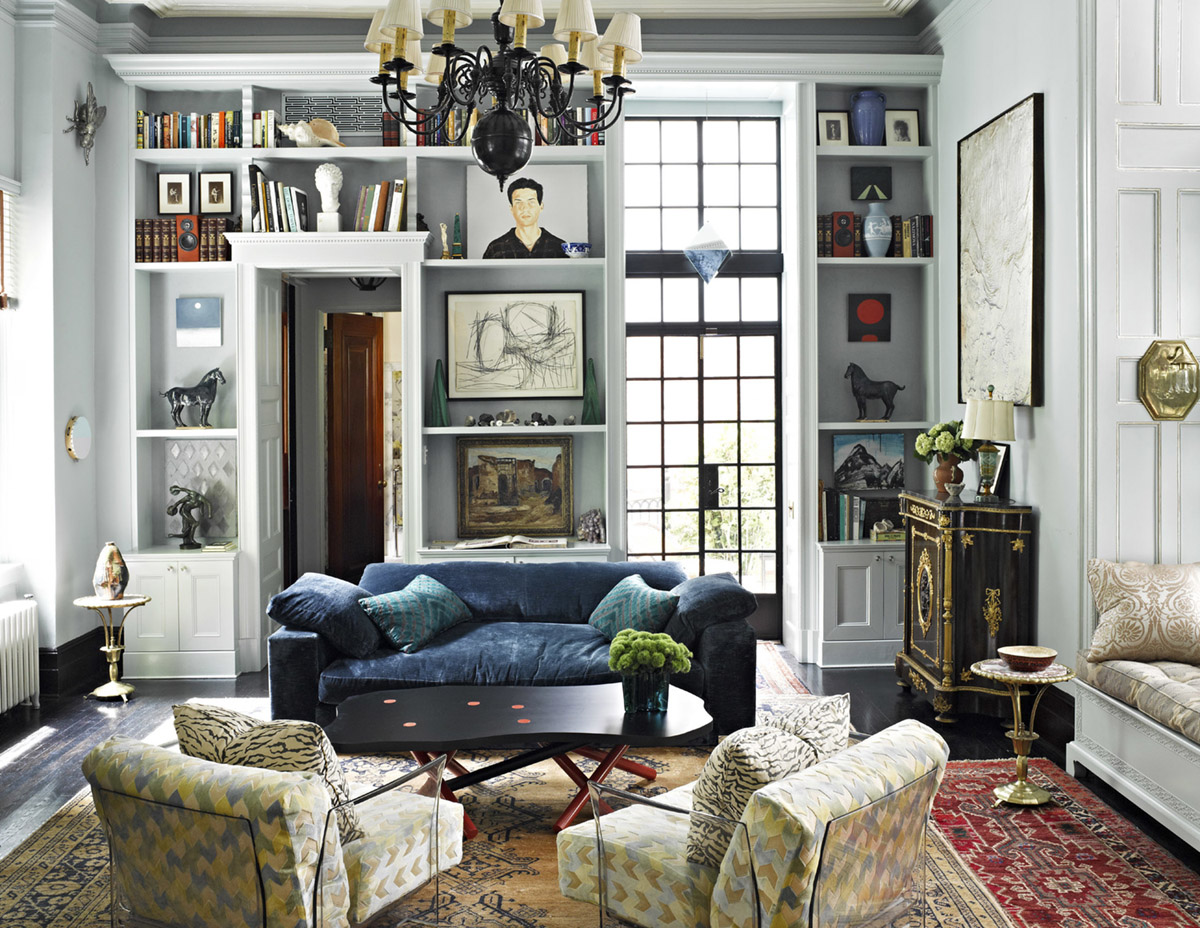 Small living room with formal design