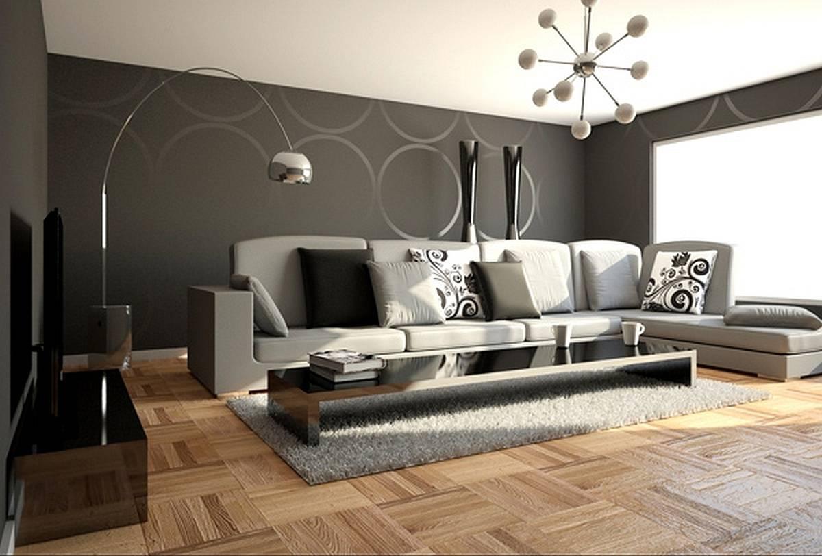 Using woods for living room design