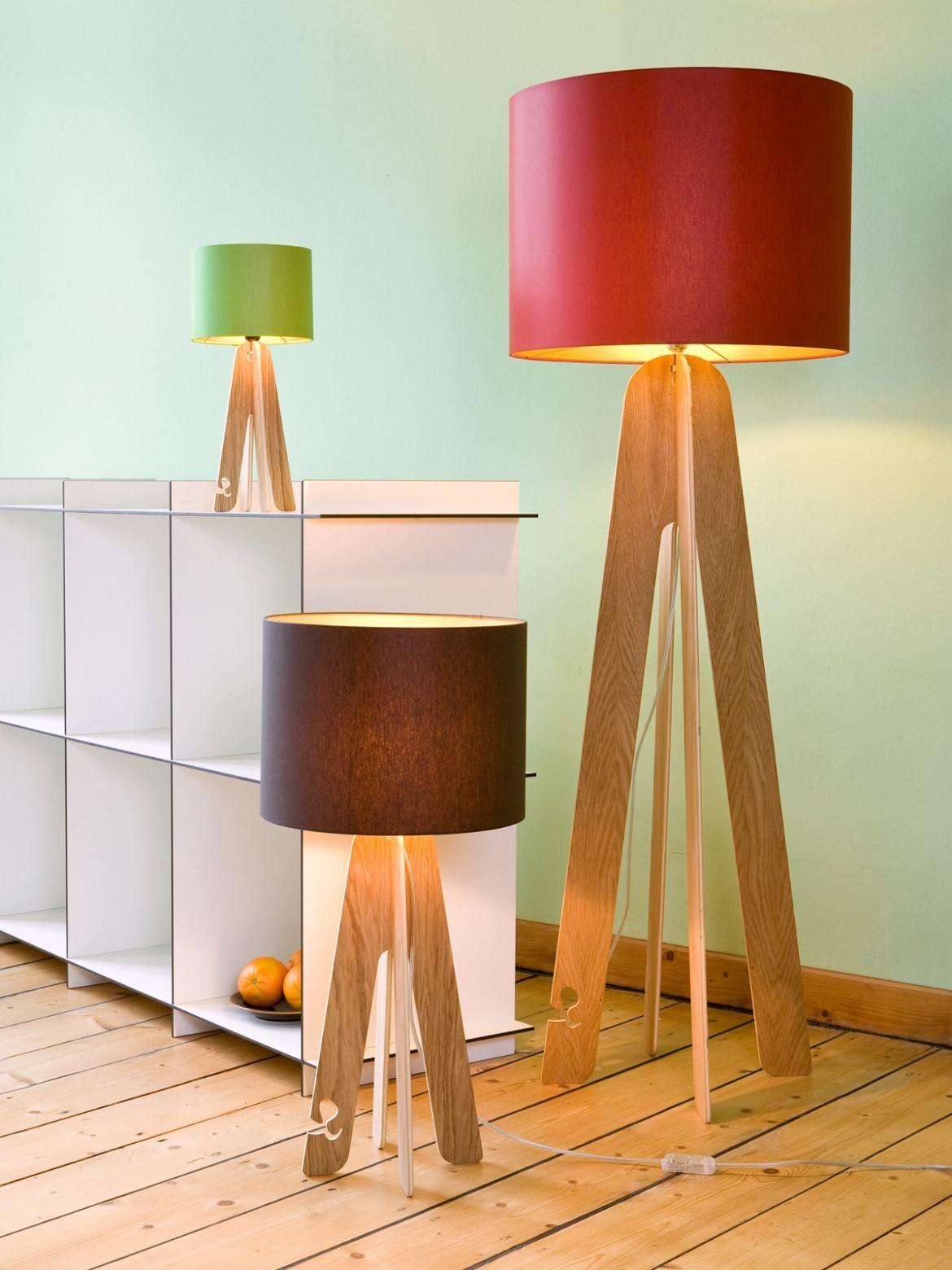 farbenfrohe leuchten mit dem gewissen etwas lampen. Black Bedroom Furniture Sets. Home Design Ideas