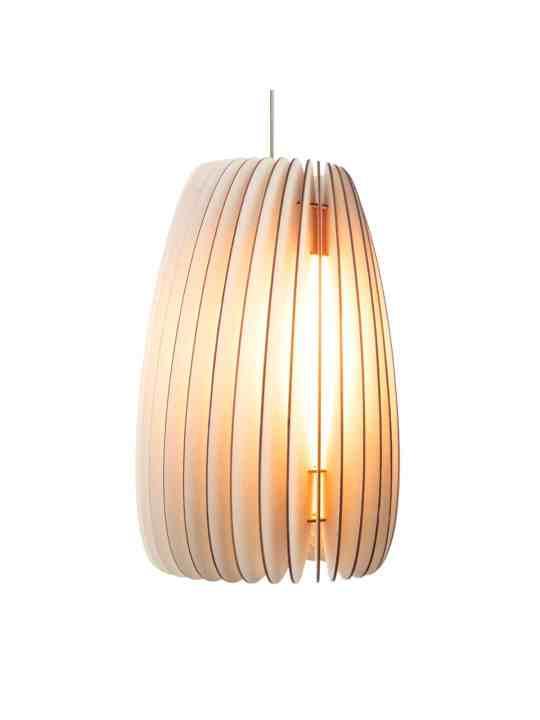 Holzlampe Secundum von Schneid