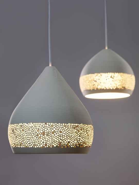 Pottery Project Pott Lampen aus Keramik SpongeOh!