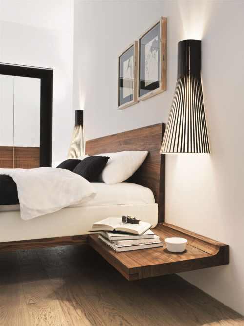 Schlafzimmer-Wandleuchte-Secto