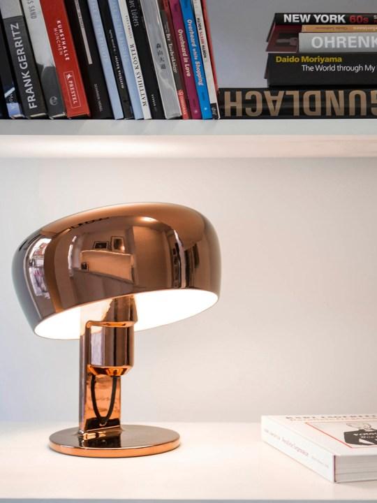 Formagenda Coppola Tischlampe Kupfer
