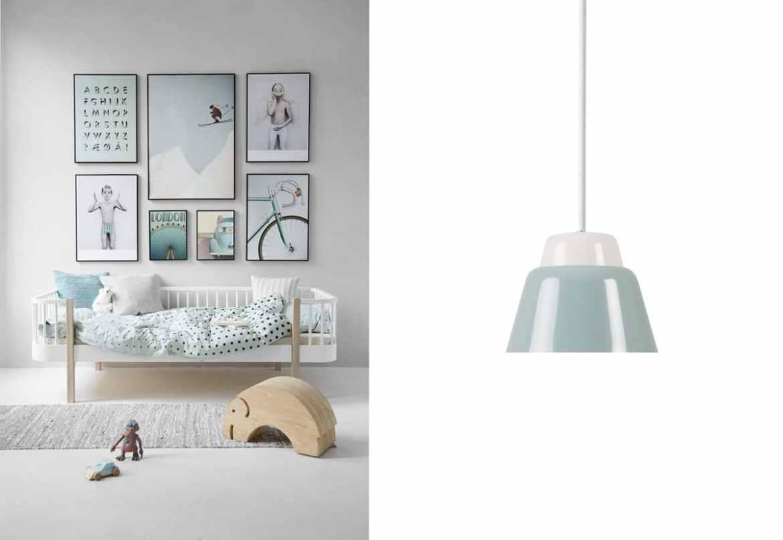 Kinderzimmerbeleuchtung mit Modu Pendelleuchte