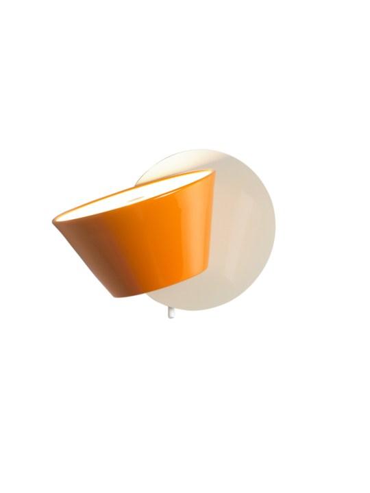 Marset Wandleuchte Tam Tam A in Orange