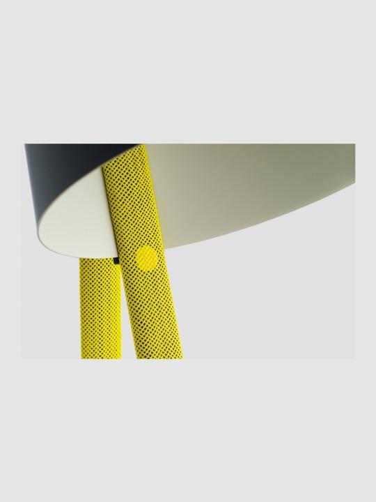 Rope Trick gelb Detail Seil