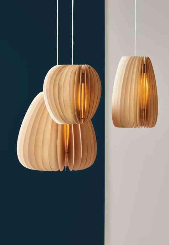 Holzlampen aus nachhaltiger Produktion