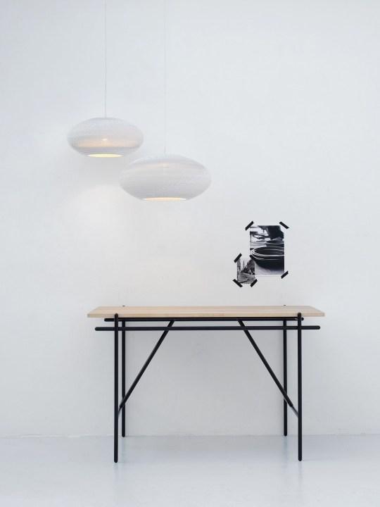 Lampen von Graypants disc Scraplights white