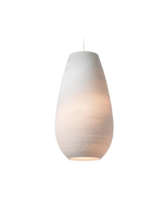 drop Scraplights white von Greypants Lampe