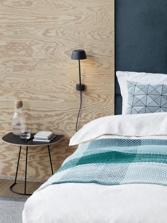 Wandlampe Lean in Schwarz Schlafzimmer Deko DesignOrt Onlineshop
