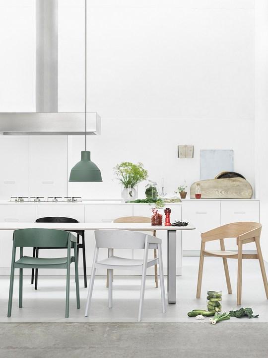Pendelleuchte Unfold von Muuto in Küche