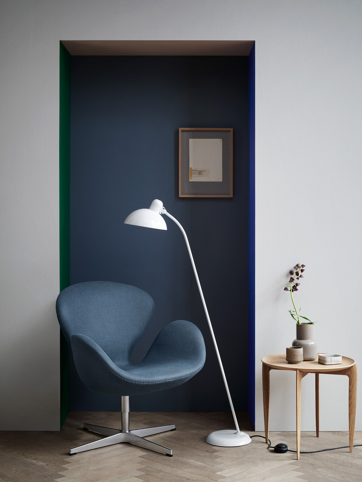 kaiser idell floor lampen leuchten designerleuchten online berlin design. Black Bedroom Furniture Sets. Home Design Ideas