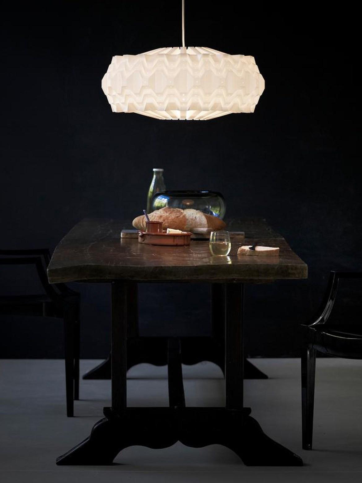 DesignOrt Blog: Trommelförmige Designerleuchten Cassiopeia 150 Leuchte Le Klint