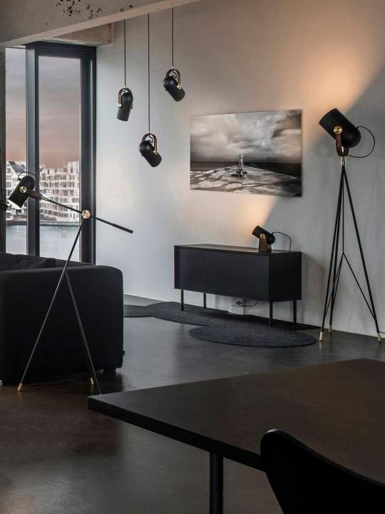 Wandleuchte und Tischleuchte Carronade Wall Table