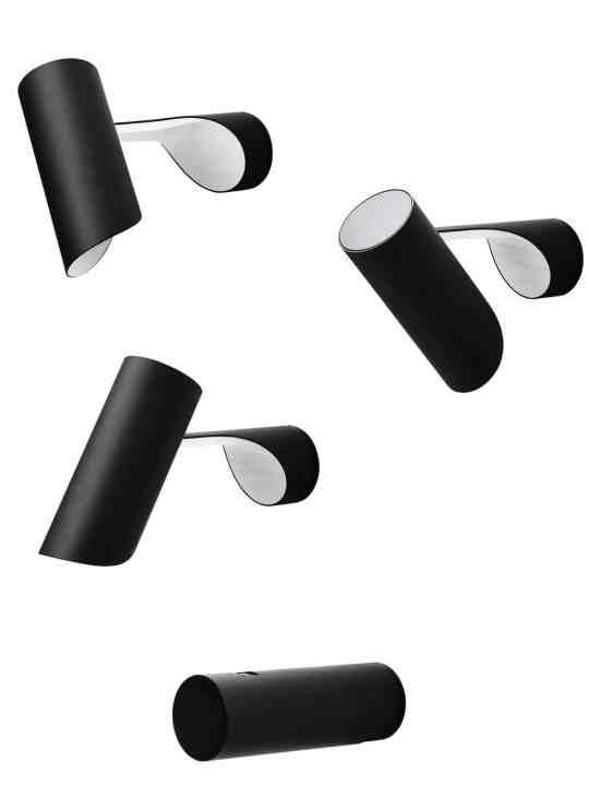 flexible Wandleuchte mit Schalter Mutatio