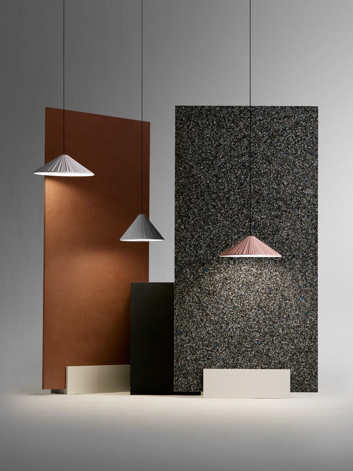 DesignOrt Blog: Pendelleuchten aus Keramik Pu-erh Marset