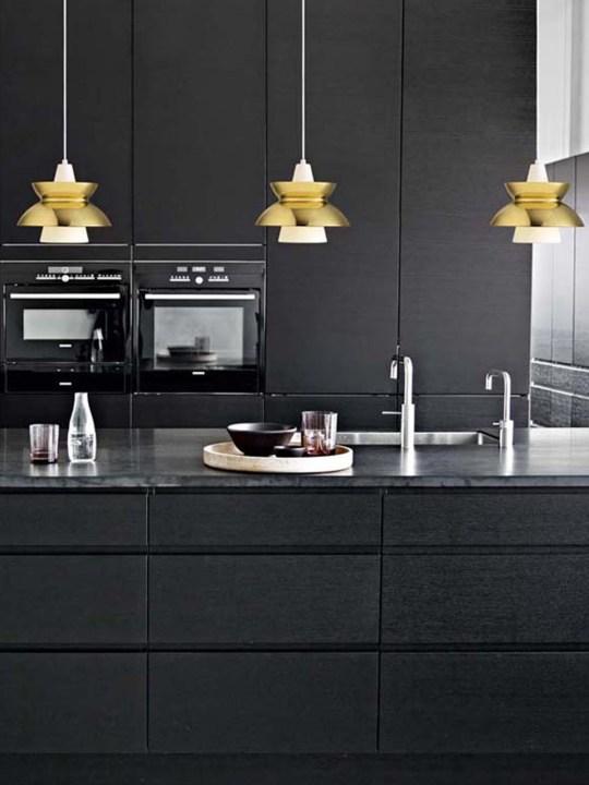 DesignOrt Blog: Louis Poulsen Pendelleuchten für Küche und Esszimmer Doo-Wop Louis Poulsen Messing