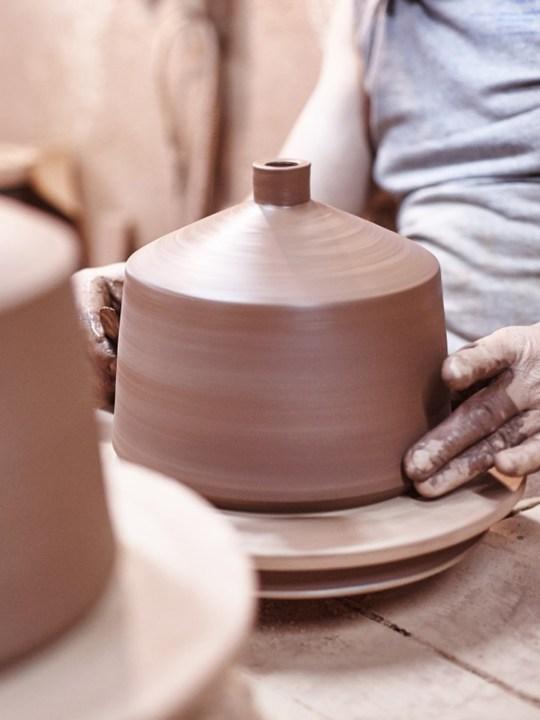 Pottery project Pott Keramik Leuchte Flame 28