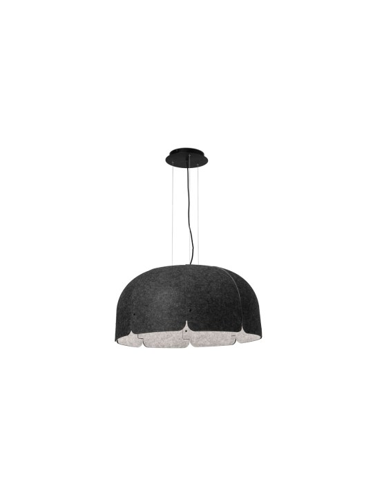 Lampe aus recycelten Materialien die Schall dämmt Mute