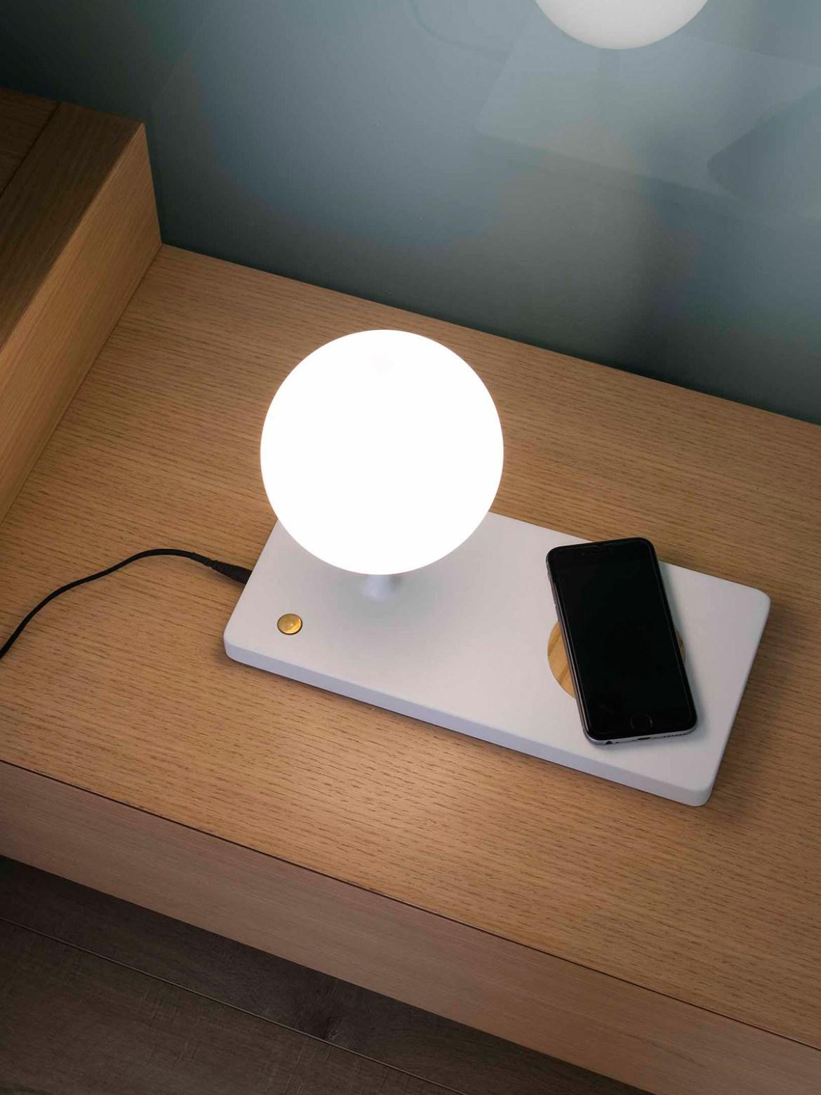 DesignOrt Blog: Designer im Portrait: Nahtrang LED Tischlampe Niko Faro