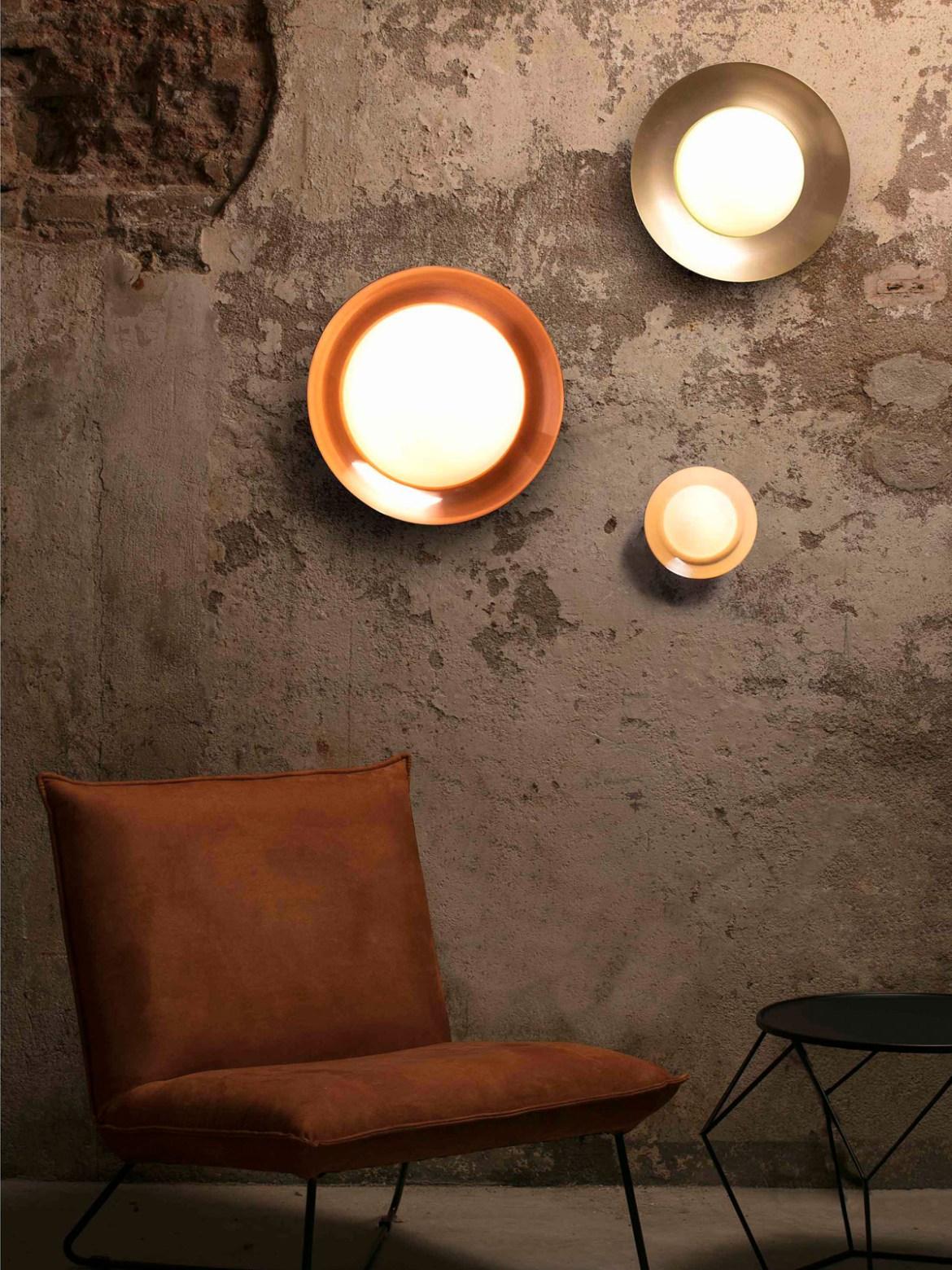 DesignOrt Blog: Neue Designerlampen bei DesignOrt LED Wandlampe Side Faro Barcelona