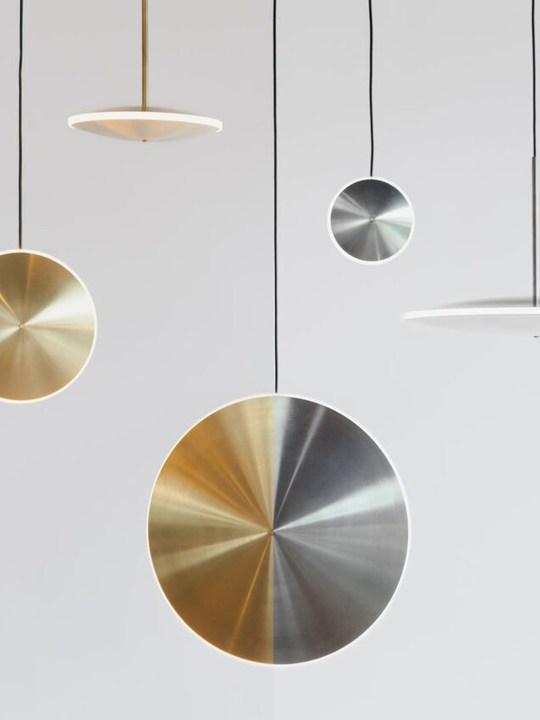 LED Lampe aus Stahl Chronalights H Graypants