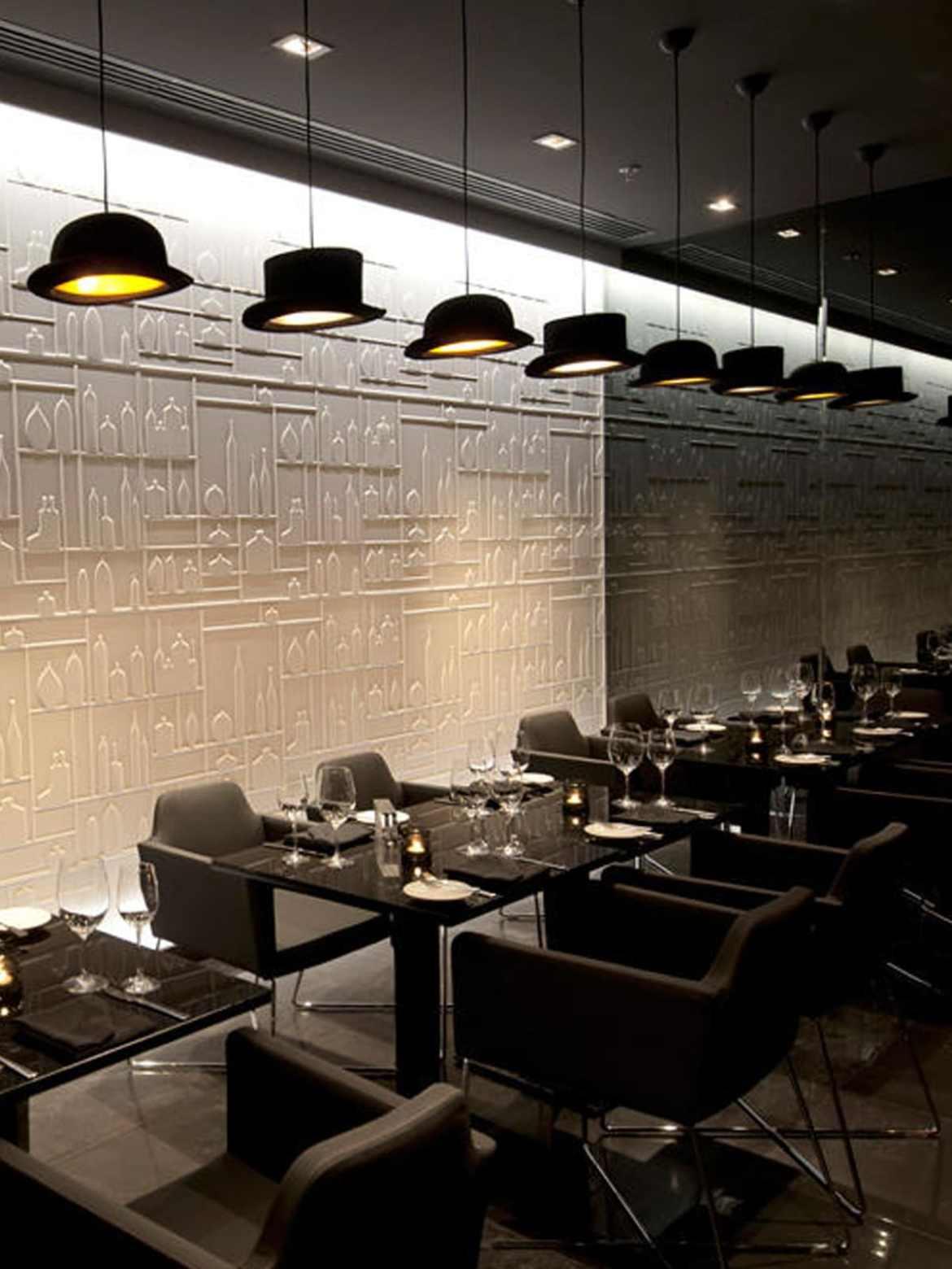 DesignOrt Blog: Frische Designerleuchten für die Gastronomie Jeeves & Wooster Hutlampen Innermost