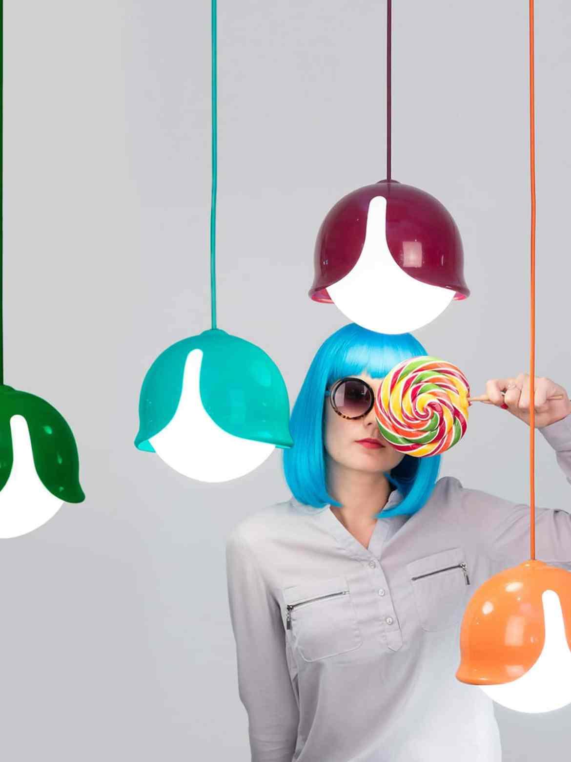 DesignOrt Blog: Die Designwelt von Innermost Candy colored Snowdrop Lampe