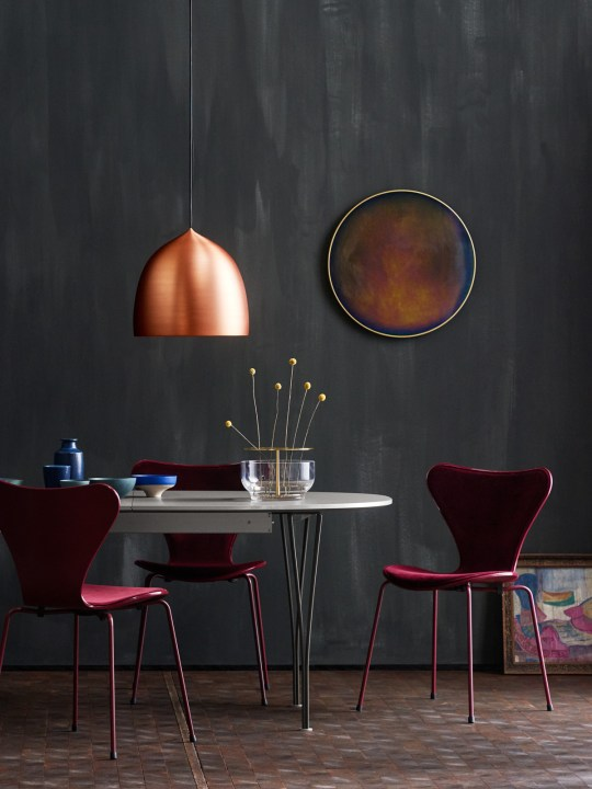 Suspence Copper Lampe Lightyears Republic of Fritz Hansen