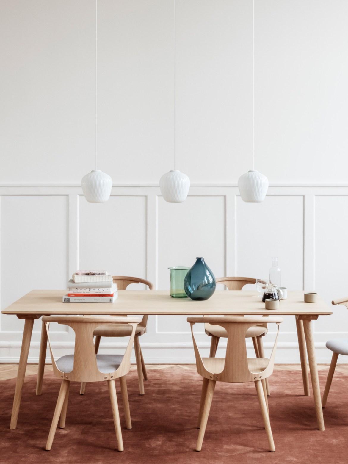 DesignOrt Blog: Retro Lampen skandinavische Glasleuchte Blown von &tradition in Klar oder Opal