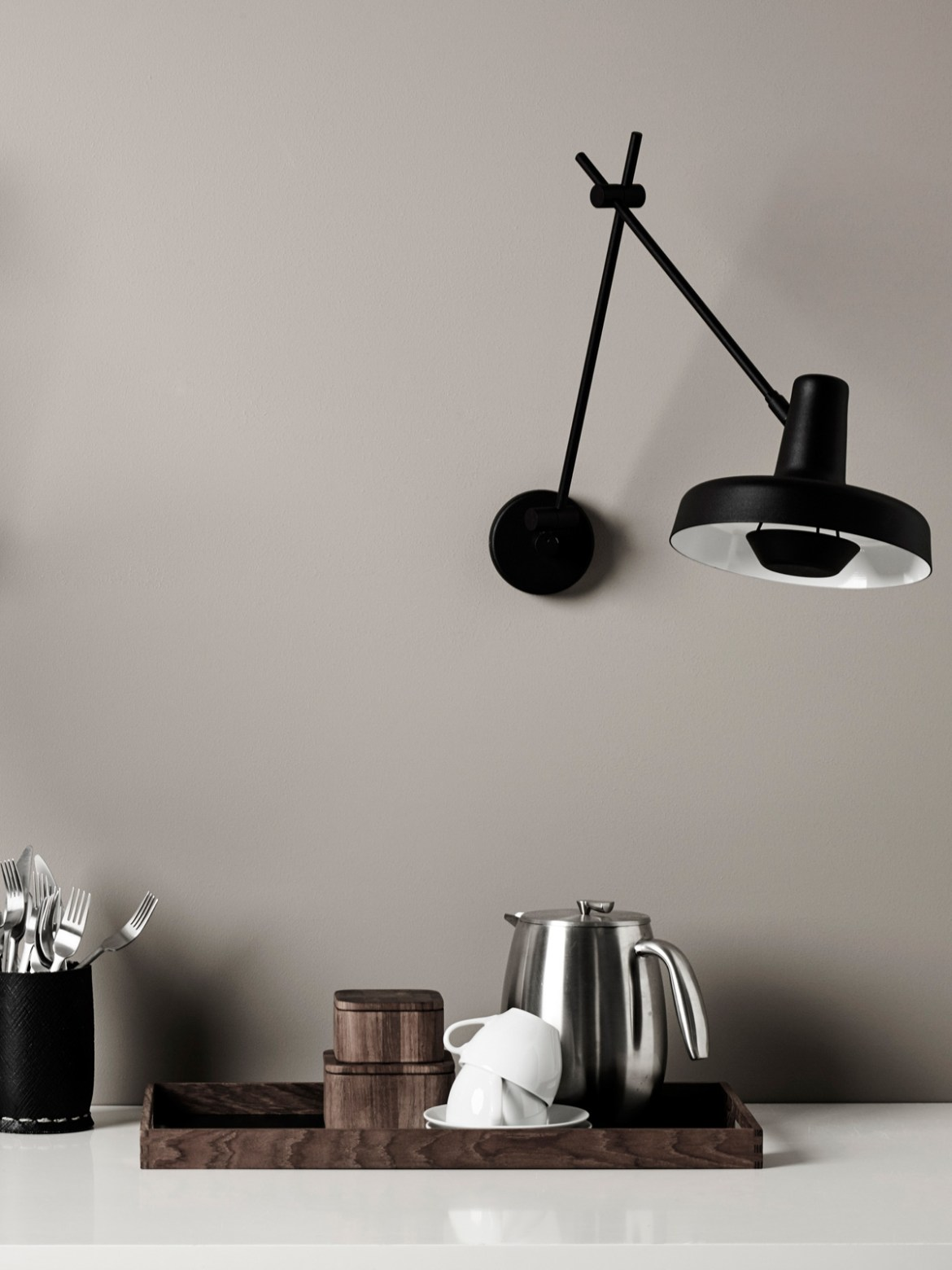 DesignOrt Blog: Wandlampe Grupa Products Arigato Wall