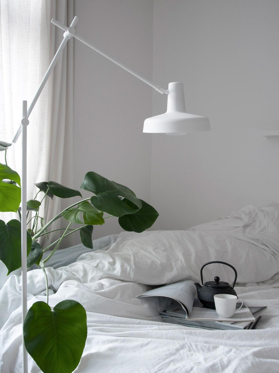 DesignOrt Blog: Beleuchtung für das Home Office Stehlampe Arigato Floor Grupa Products