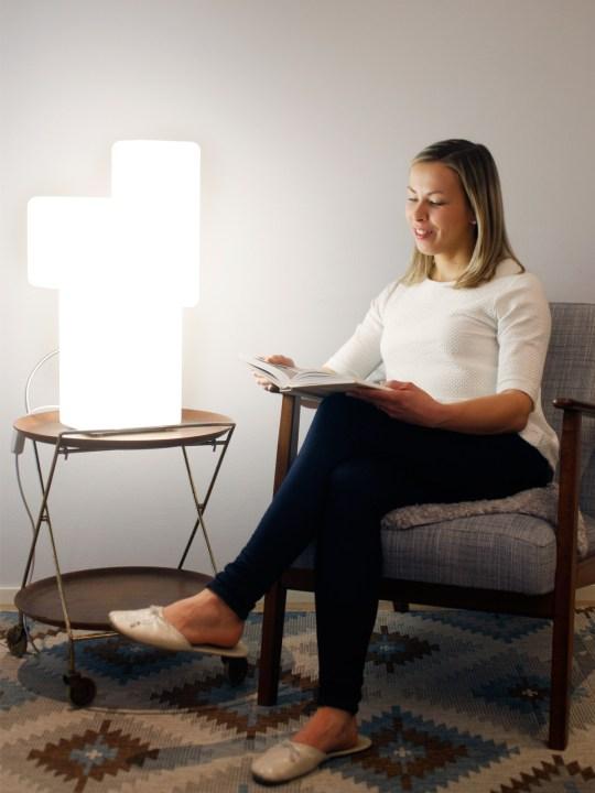 Tageslichtlampe Innolux Kubo Therapielicht Wellnesslampe