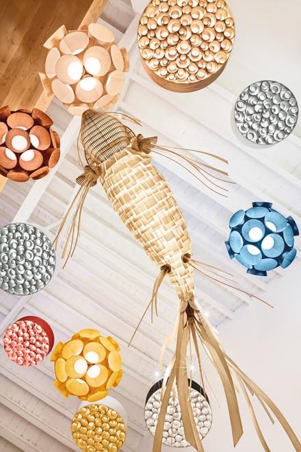 Bossa Lumini-Farben-Palette-Lampe