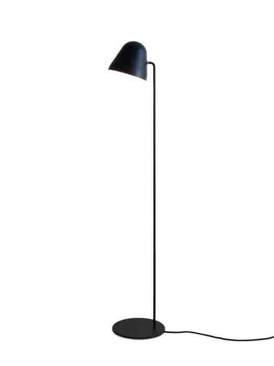NYTA Stehleuchte Tilt S Floor komplett Schwarz
