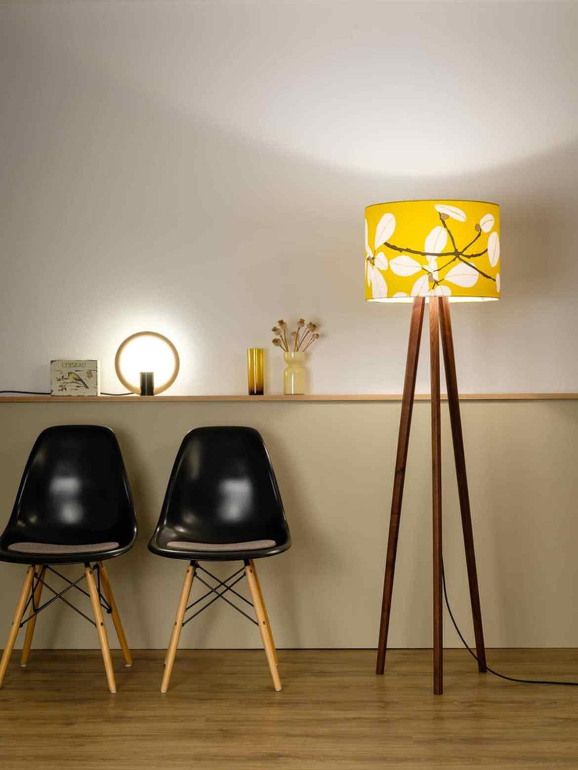 DesignOrt Blog: Neuigkeiten bei DesignOrt Tischlampe Rink Domus Licht und Sten Flower in Sun