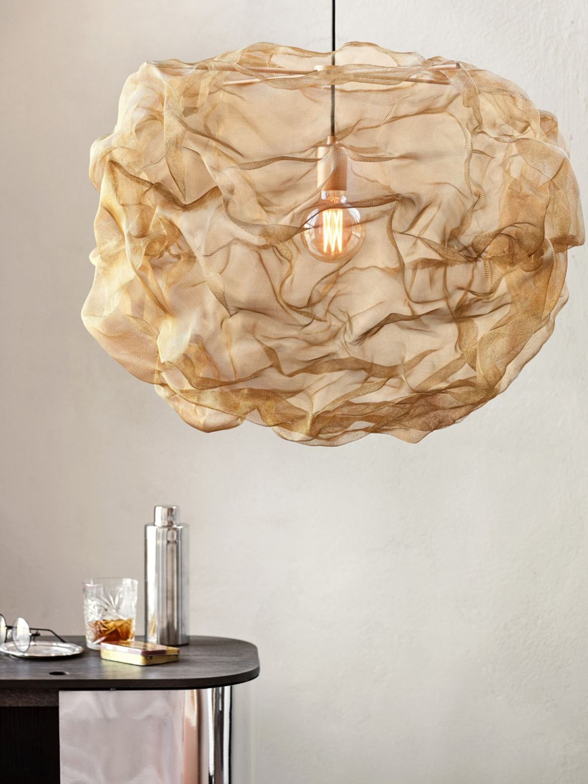 DesignOrt Blog: Messingleuchten Northern Lighting Heat Pendelleuchte
