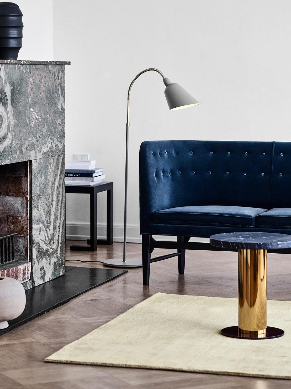 DesignOrt Blog: Designer im Portrait: Arne Jacobsen Stehleuchte Bellevue AJ7 &tradition