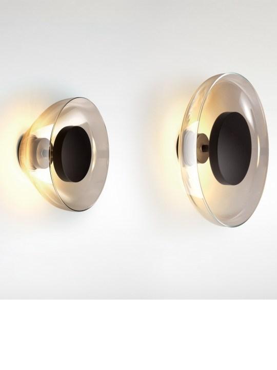 Aura Wandleuchte Marset mundgeblasenes Glas LED dimmbar